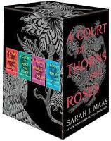 NEW A Court of Thorns & Roses 4 Books Collection Library Slipcase Gift Box Set!