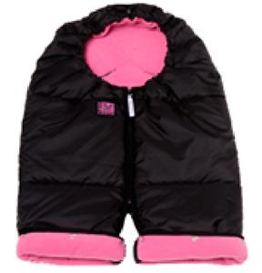 Red Castle Baby Winter Warming Suit - Mini Combi Zip - Black/Fuchsia