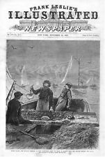 The Scallop Fisheries at East Greenwich, Rhode Island - A Scallop Boat  --1877