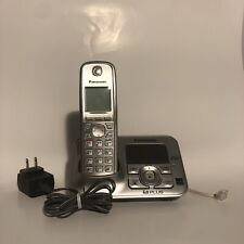 USED Panasonic KX-TG4133N Silver DECT 6.0 Cordless Phone with Answering System