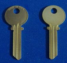 TWO KEY BLANKS FIT MEDECO LOCKS ILCO #1515 NICKEL SILVER LEVEL 1 5-PIN USA