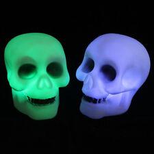 Led Skeleton Party Decoration Prop Bedside Table Light Halloween Lamp
