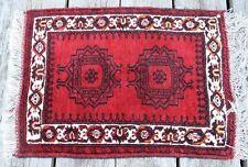 Età tappeto orientale annodato 106x68 Buchara TAPPETO CARPET RUG ponte 73
