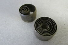 """JF Helmold Steel Rule Circle Die Punches Round Punch Lot of 10 1/4"""" to 1 3/8"""""""