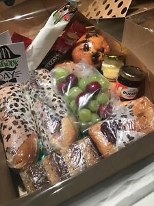 Fresh Food Hamper Birthday, Surprise, Cakes, Lovely Father's Day Gift