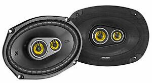 "Pair KICKER 46CSC6934 6""x9"" 6x9"" 900 Watt 4-Ohm 3-Way Car Audio Speakers CSC693"