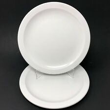 Texas Ware White Melamine Dinner Plate #139 Melmac Vintage USA SET OF 2