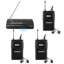 Takstar In-Ear Pro WPM-200 Wireless Monitor System 1 Transmitter 3 Receivers