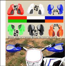 2018 2019 Dirt Bike ATV MX Motocross Motorbike Hand Guards Handguard W/Mount Kit