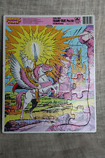 Vintage 1985 Princess Power Tray Puzzle She-Ra & Swift Wind Pegacorn Golden