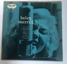 Helen Merrill LP ~ EMARCY 36006 ~DEEP GROOVE ~ Blue Back Cover