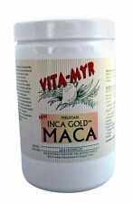 Maca Inca Gold Traditionally Grown 1 lb Jar Pure Powder for Energy & Vitality