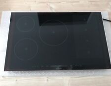 Siemens iQ700 Black Glass with Stainless Steel Trim Induction Hob