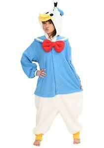 Adult Disney Donald Duck Pajama Costume SIZE Standard (Used)