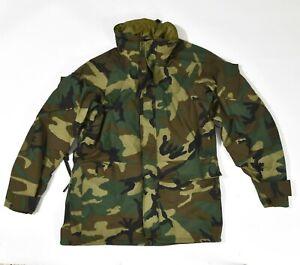 USMC ECWCS GEN II Gore-Tex Cold Weather Parka Medium Regular Woodland Coat Army