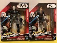 "Star Wars 6"" Set Anakin Skywalker & The Inquisitor Hero Mashers E3660 / B3772"