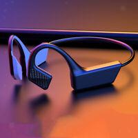 Cuffie Wireless A Conduzione Ossea Cuffie Sportive Bluetooth V5.0 Nere