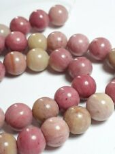 6pcs Rhodonite Natural Genuine Gemstone Beads (Grade A) 8mm B68315