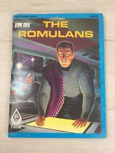 Star Trek - The Romulans - Game Operations & Starfleet Intelligence Manuals FASA