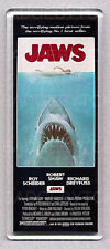 JAWS movie poster WIDE FRIDGE MAGNET  -  SPIELBERG Horror Classic!