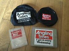 OLD RETRO ANGLING TIMES/MAIL FISHING ITEMS.