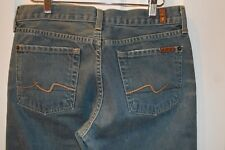 Seven 7 for All Mankind-Womens-medium color-blue jeans-bootcut/size W29xL31
