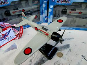 Mitsubishi ZERO  Kinder Flugzeug Fertigmodell Aircraft AVION WW2 1:48 YAKAiR