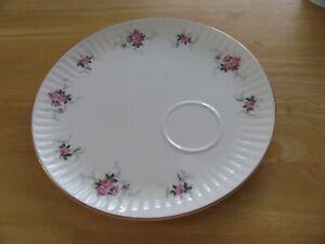 Princess House Hammersley Fine Bone China England WINDSOR ROSE Snack Plate