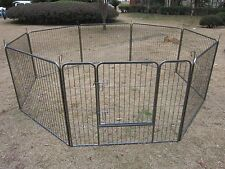 Large Outdoor Rabbit Enclosure Pets Playpen Play Run Dogs Whelping Pen Cage Den