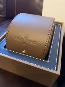 Genuine Breitling Box With Leather Case