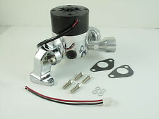 FORD SBF Electric Water Pump. Cranks out 35 GPM Shiny Chrome Finish HC8030C