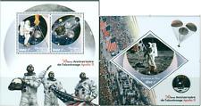 Apollo 11 50 Anniversary Moon Exploration NASA Space MNH Tchad stamps set