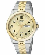 Citizen Watch Mens Two Tone Stainless Steel Bracelet 38mm Bf0574-92p