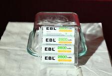 EBL AA NI-MH Rechargeable Batteries 2800mAh GENUINE