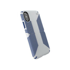 Speck Presidio Grip Case Cover for Apple iPhone Xs and iPhone X Grey/Blue