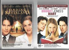 Johnny Depp in Finding Neverland, Audrey Tautou in Amelie, Bridget Jones's Diary