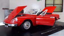 G LGB 1:24 Scala 1971 Alfa Romeo Spider Veloce 2000 Leo Whitebox Modellino