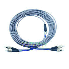 100M FC to FC Multimode MM Duplex 3.0 Armored Fiber Optic Cable Patch Cord
