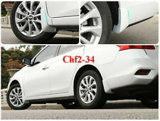 Pearl White Splash Guards Mud Flaps Mud Guards Fender FOR Nissan Sentra 2016-18