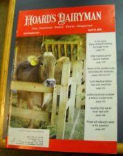 HOARD'S DAIRYMAN MAGAZINE APR 10 2009 NATIONAL DAIRY FARM PRICES WILL REBOUND