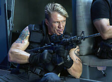 PHOTO DOLPH LUNDGREN - EXPENDABLES 3 11X15 CM # 1