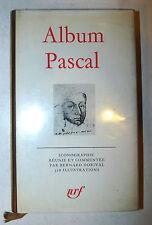 Biografia Fotografia, Album: Pascal 1978 La Pleiade 1a prima edizione