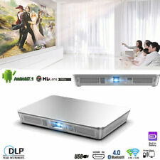 7500Lumens DLP Android 7.1 Home Theater Projector Wifi Wireless HD 1080P HDMI SD