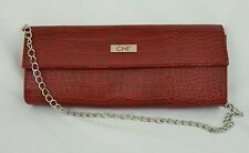Chi Straightener Travel Case Red Chain Shoulder Strap Snap Close Good Condition