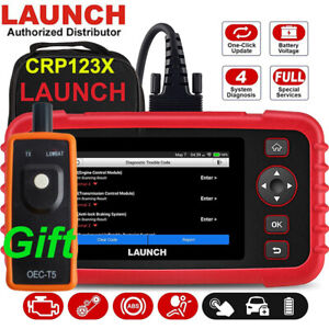 LAUNCH CRP123X Car OBD2 Scanner Code Reader Check Engine ABS SRS Diagnostic Tool