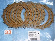 9 disques d'embrayage GARNIS d'origine KTM SX 250 / EXC 250 300 2004/2012 neuf
