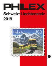 Philex Zwitserland Schweiz Switzerland catalogue catalogus Katalog 2019 Helvetia