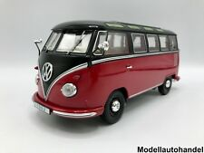 VW Volkswagen T1 Samba Bus Bulli 1959 - rot/ schwarz - 1:18 KK-Scale