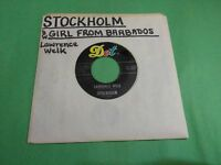 "LAWRENCE WELK Stockholm b/w Girl From Barbados 45 16582 7"" 45rpm Vinyl VG+"