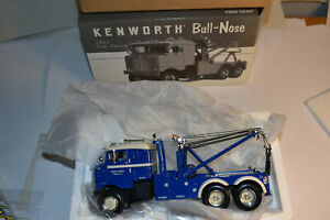 First Gear Kenworth Bull-Nose 1953 Tow Truck NRFB 1/34 19-0022